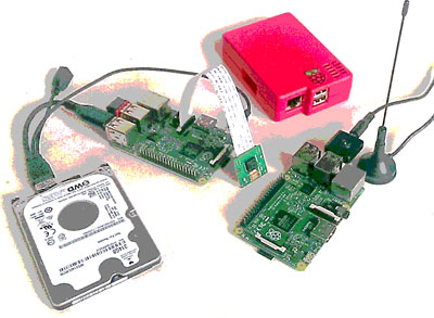 Raspberry Pi computers